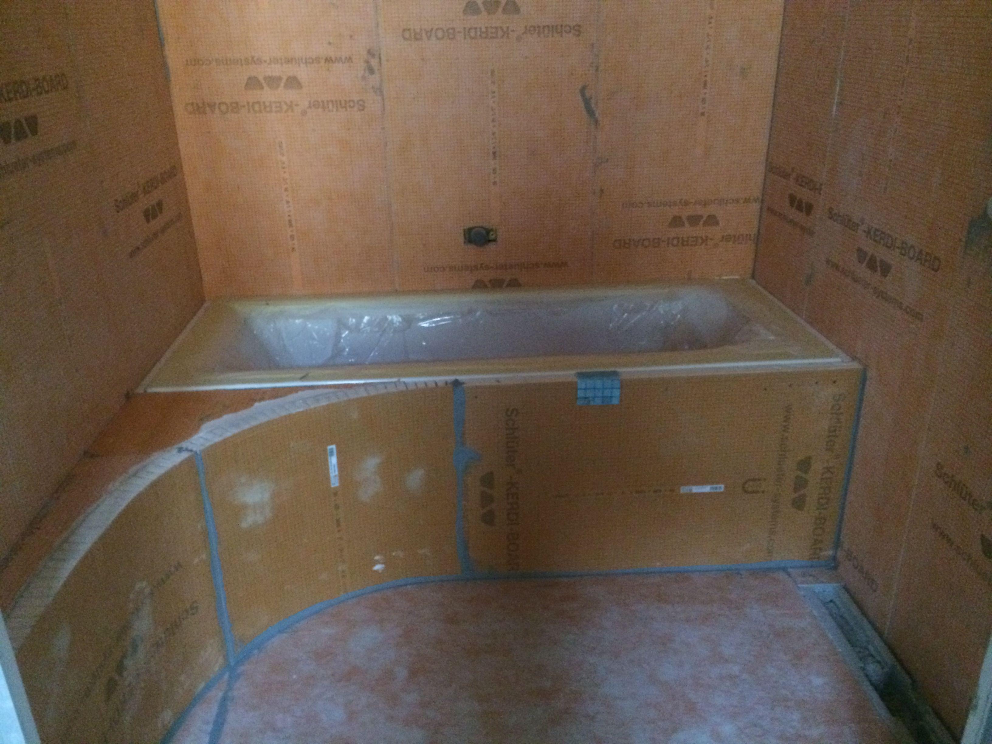 Posa di pannelli in polistirene espanso ed estruso meinardi - Pannelli per coprire piastrelle bagno ...