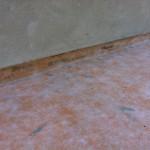 Laying new waterproof systemPosa nuovo sistema di impermeabilizzazione