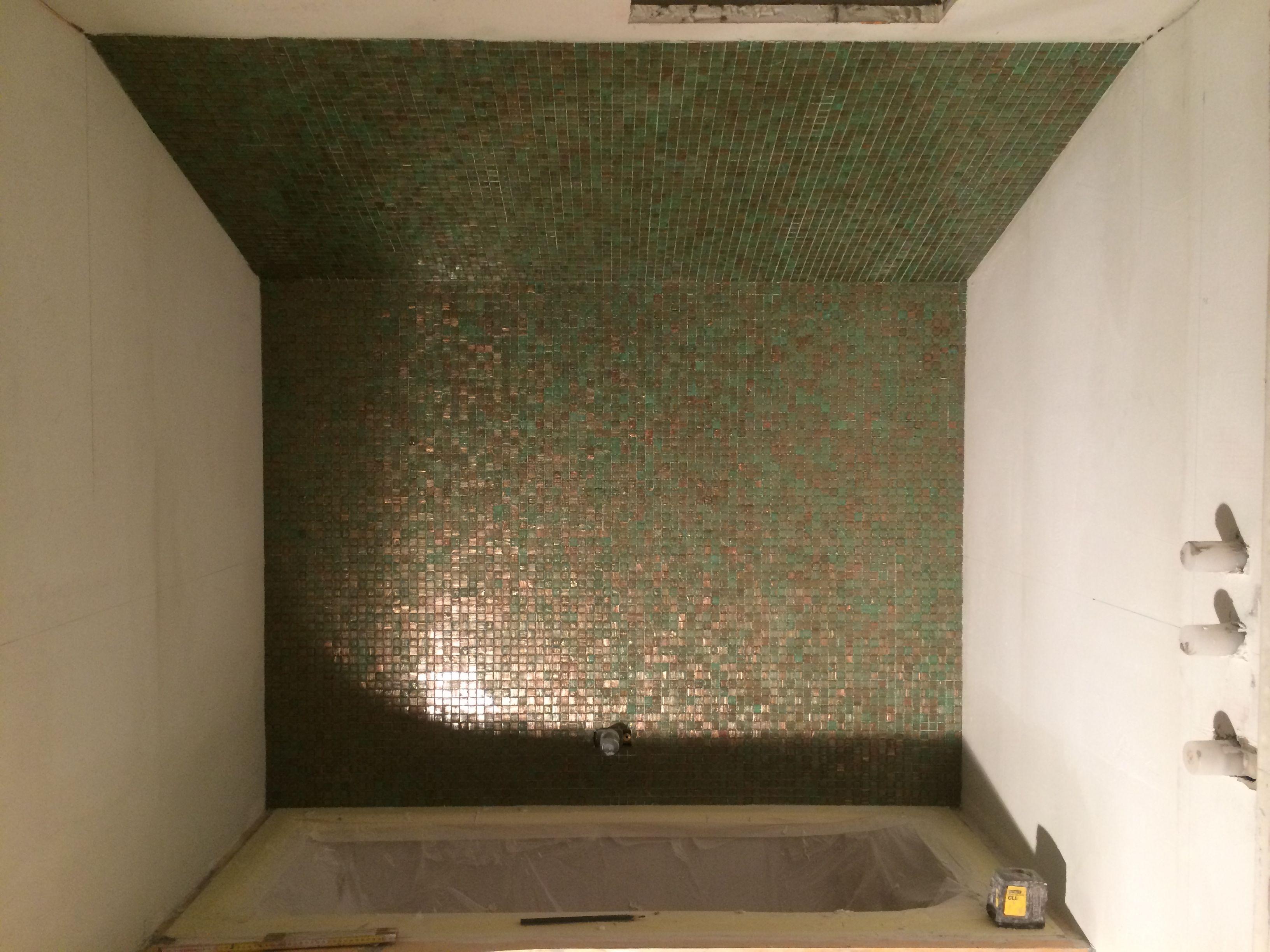 Cartongesso bagno piastrelle - Posa mosaico bagno ...