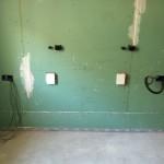 Building plasterboard wallRealizzazione parete in cartongesso