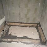 Waterproofing of polystyrene shower trayImpermeabilizzazione piatto doccia in polistirene