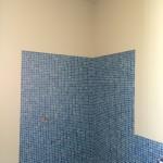 Bathroom during painting timeBagno nella fase di tinteggiatura