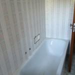 Bathtube zone before restylingZona vasca prima del restyling