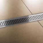 Schlüter Kerdi Line: floor level showerSchlüter Kerdi Line: la doccia filo pavimento