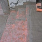 Corret waterproofing of the stepsImpermeabilizzazione corretta dei gradini