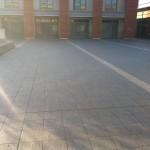 Installation completedPosa del gres terminata