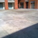 Initial situation, concrete subfloorSituazione iniziale, sottofondo in cemento