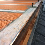 Proper sealing copper elementSigillatura corretta di elemento in rame