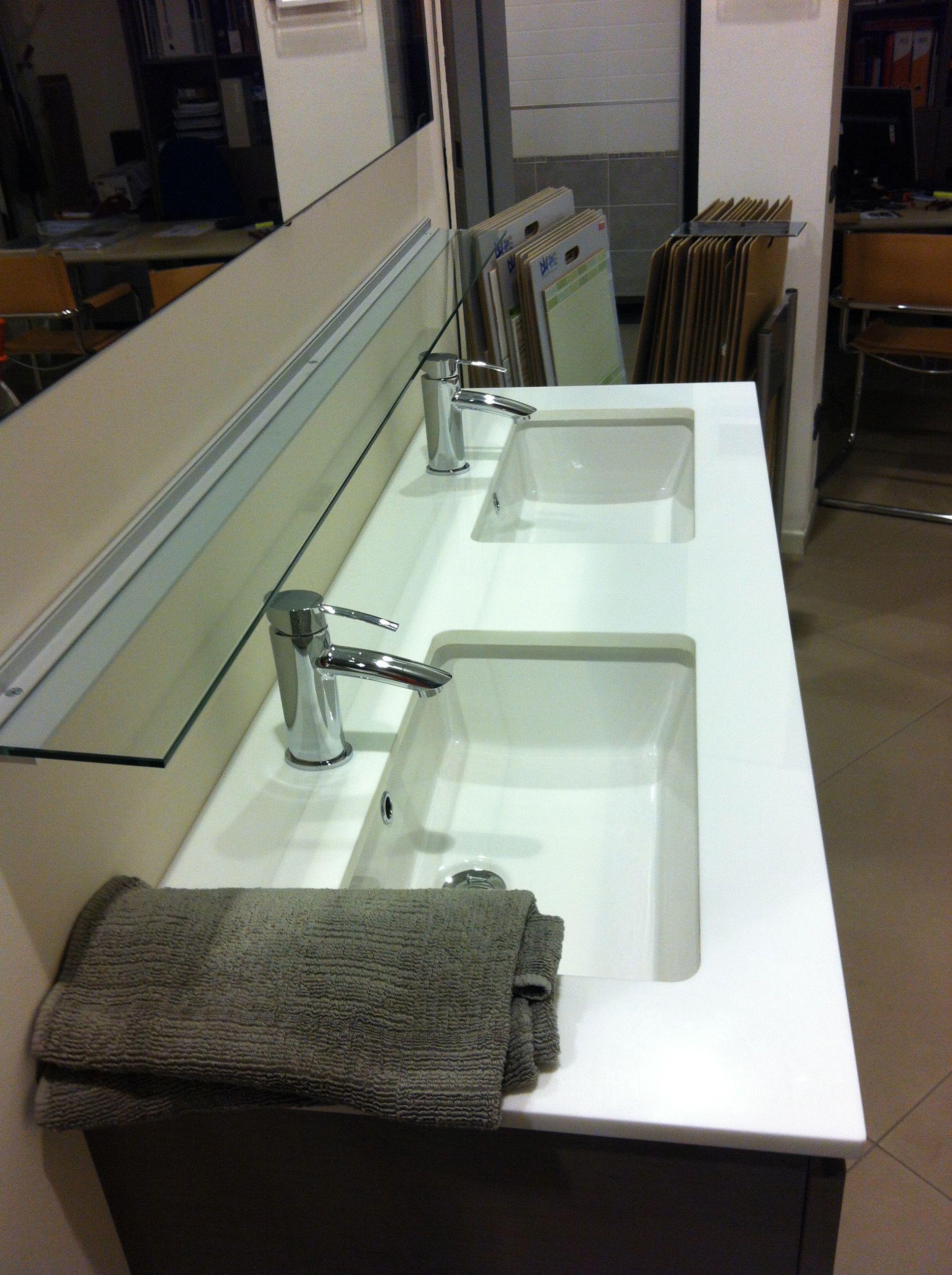 Mobili da bagno in offerta meinardi for Specchio bagno doppio lavabo