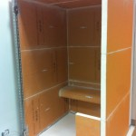 Example shower box made ​​using KERDI-BOARDEsempio di box doccia realizzato con Kerdi-Board