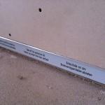 Correct fixing plasterboard slabFissaggio corretto lastra di cartongesso