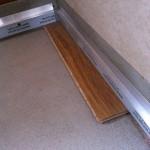Thickness skirting boards preparing Predisposizione spessore battiscopa