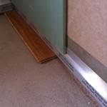 Laying second slab plasterboardPosa seconda lastra cartongesso