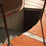 Laying of waterproofingPosa della impermeabilizzazione