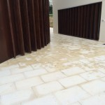 Laying of flooring endedPavimentazione terminata