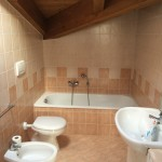 Attic bathroom, before restylingBagno mansarda, prima del restyling