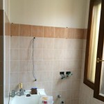Bathroom before restylingBagno prima del restyling
