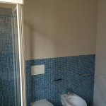 Shower and wc/bidet zone at the end of restylingDoccia e zona sanitari al termine del restyling
