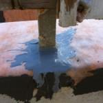 Shot on correct iron waterproofing Scatto sul corretto modo di impermeabilizzare il ferro