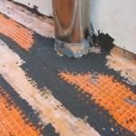 Copper drain waterproofingImpermeabilizzazione scarico in rame
