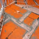 Outdoor stairs waterproofingImpermeabilizzazione scala esterna