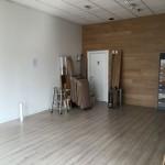 Laminated floor before Microresina FloorLaminato prima di Microresina Floor