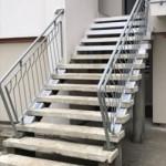 Outdoor staircase, starting restorationScala esterna, inizio ripristino