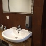 Corten for bathroom wallsCorten per pareti bagno