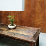 Corten on indoor wallCorten su parete in interno