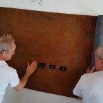Laying Corten #2mm rollPosa del rotolo effetto Corten #2mm